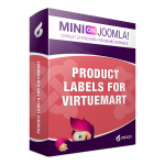Product Labels for Virtuemart