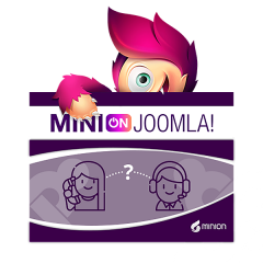 MInijoomla.org - Install and set in 1h support