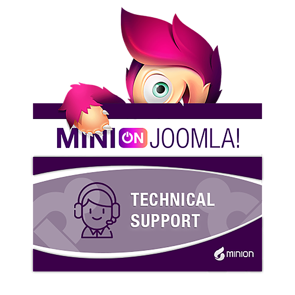 Minijoomla.org - 1 hour technical support